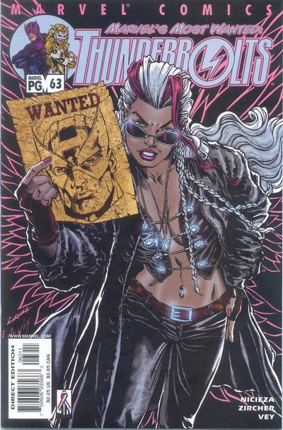 Cover for Thunderbolts (1997 series) #63