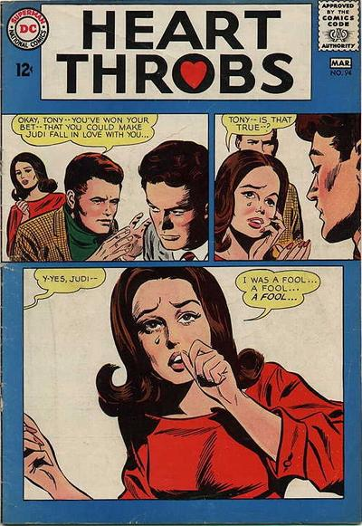 Cover for Heart Throbs (1957 series) #94