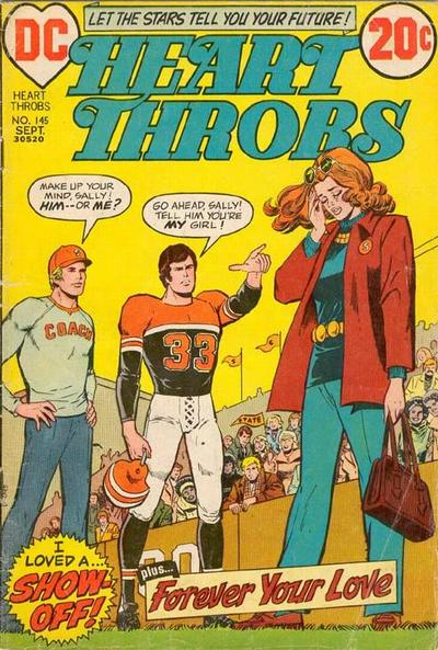 Cover for Heart Throbs (DC, 1957 series) #145