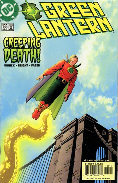 Cover for Green Lantern (DC, 1990 series) #133
