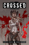 Cover Thumbnail for Crossed Badlands (2012 series) #1 [Calgary Red VIP Exclusive Variant by Jacen Burrows]