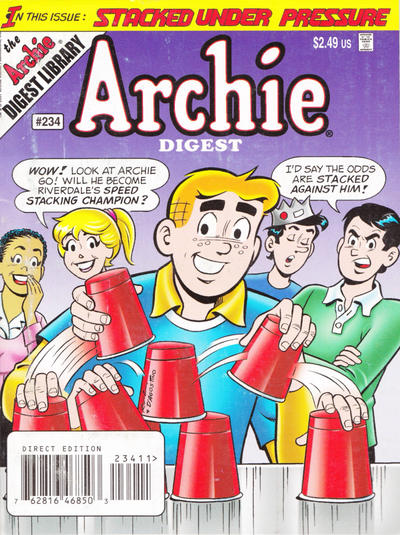Cover for Archie Comics Digest (Archie, 1973 series) #234 [Direct]