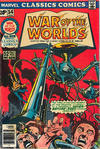 Cover for Marvel Classics Comics (Marvel, 1976 series) #14 - War of the Worlds [British price variant]