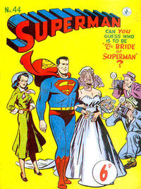 Cover Thumbnail for Superman (K. G. Murray, 1947 series) #44