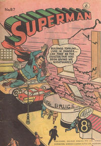 Cover Thumbnail for Superman (K. G. Murray, 1947 series) #87