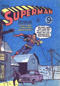 Cover Thumbnail for Superman (K. G. Murray, 1947 series) #106