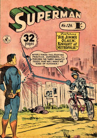 Cover Thumbnail for Superman (K. G. Murray, 1947 series) #124