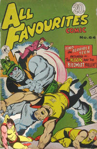 Cover Thumbnail for All Favourites Comic (K. G. Murray, 1960 series) #64