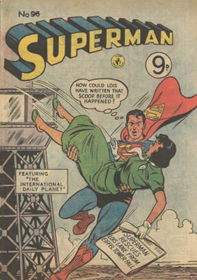 Cover for Superman (K. G. Murray, 1947 series) #96
