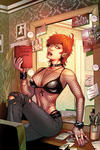 Cover for Chastity (Dynamite Entertainment, 2014 series) #1 [main cover ultra limited Virgin Art edition]
