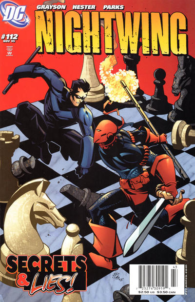 Cover for Nightwing (DC, 1996 series) #112 [Direct Edition]