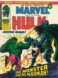 Cover Thumbnail for The Mighty World of Marvel (Marvel UK, 1972 series) #115
