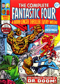 Cover Thumbnail for The Complete Fantastic Four (Marvel UK, 1977 series) #11