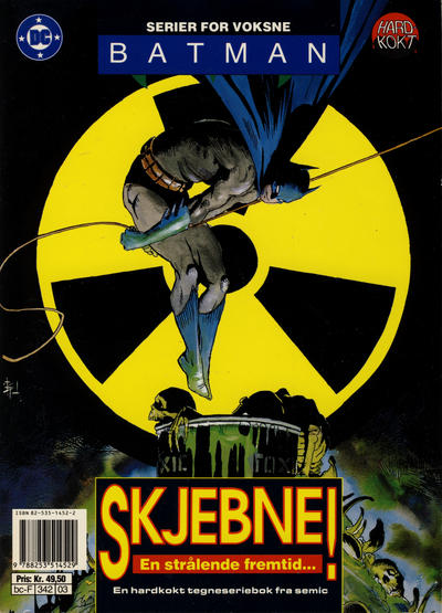 Cover for Batman - Nattens Ridder (Semic, 1992 series) #[3] - Blind tro!