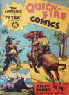 Cover for Quick-Fire Comics (Offset Printing Co., 1950 ? series)