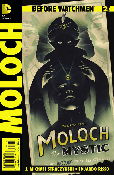Cover for Before Watchmen: Moloch (DC, 2013 series) #2