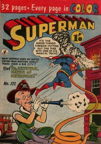 Cover Thumbnail for Superman (K. G. Murray, 1947 series) #111