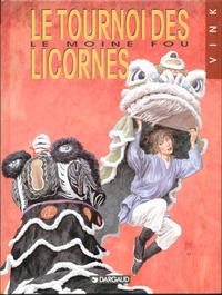 Cover Thumbnail for Le Moine fou (Dargaud éditions, 1984 series) #9