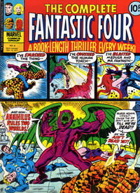 Cover Thumbnail for The Complete Fantastic Four (Marvel UK, 1977 series) #8