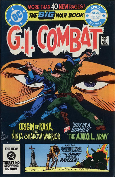 Cover for G.I. Combat (DC, 1957 series) #264 [direct-sales]