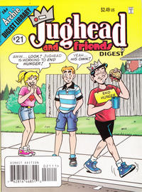 Cover Thumbnail for Jughead & Friends Digest Magazine (Archie, 2005 series) #21 [Direct]