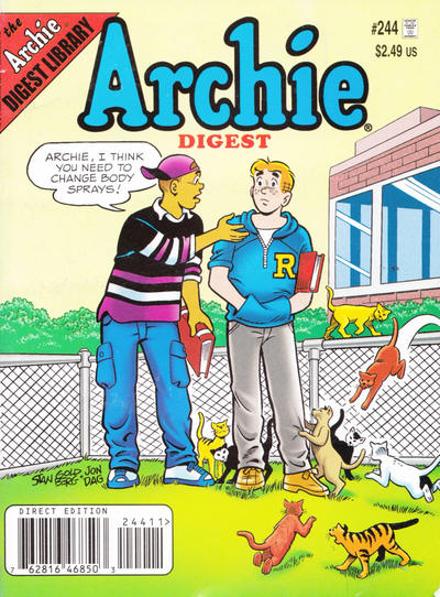 Cover for Archie Comics Digest (Archie, 1973 series) #244 [Direct]