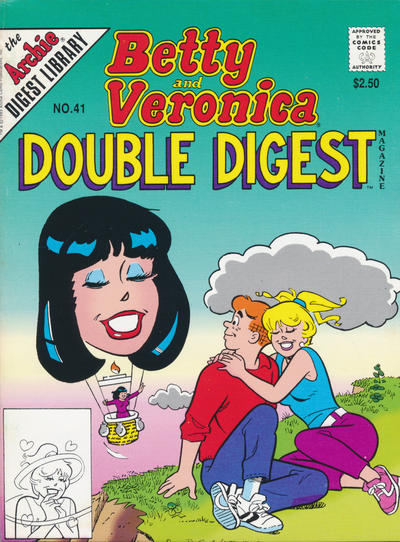 Cover for Betty and Veronica Double Digest Magazine (Archie, 1987 series) #41