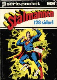 Cover Thumbnail for Seriepocket (Semic, 1972 series) #68 - Stålmannen