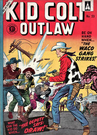 Cover Thumbnail for Kid Colt Outlaw (Thorpe & Porter, 1950 ? series) #53