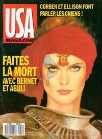 Cover Thumbnail for USA magazine (Comics USA, 1987 series) #37