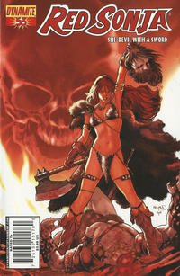 Cover Thumbnail for Red Sonja (Dynamite Entertainment, 2005 series) #53 [Cover A]