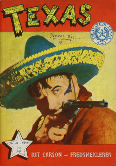 Cover for Texas (Serieforlaget / Se-Bladene / Stabenfeldt, 1953 series) #49/1957