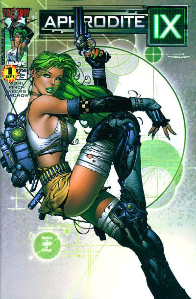 Cover for Aphrodite IX (Image, 2000 series) #1 [Michael Turner Cover]