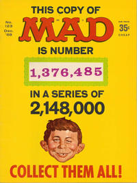 Cover for MAD (EC, 1952 series) #123