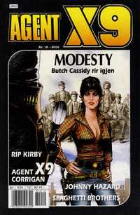 Cover Thumbnail for Agent X9 (Egmont Serieforlaget, 1998 series) #12/2008