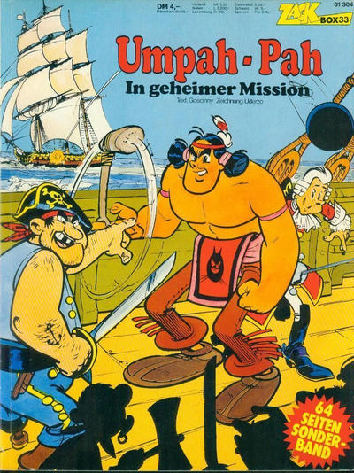 Cover for Zack Comic Box (Koralle, 1972 series) #33 - Umpah-Pah - In geheimer Mission