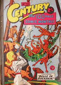 Cover Thumbnail for Century, The 100 Page Comic Monthly (K. G. Murray, 1956 series) #36