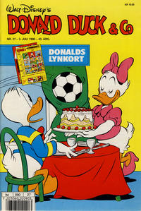 Cover Thumbnail for Donald Duck & Co (Hjemmet, 1948 series) #27/1990
