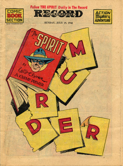Cover for The Spirit (Register and Tribune Syndicate, 1940 series) #7/19/1942