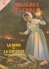 Cover for Mujeres Célebres (Editorial Novaro, 1961 series) #54