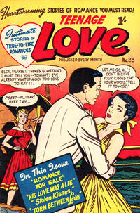 Cover Thumbnail for Teenage Love (Magazine Management, 1952 ? series) #28