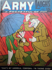 Cover Thumbnail for Army Laughs (Prize, 1941 series) #v4#2
