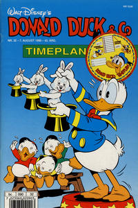 Cover Thumbnail for Donald Duck & Co (Hjemmet, 1948 series) #32/1990