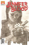 Cover for Jennifer Blood (Dynamite Entertainment, 2011 series) #7 [Black & White Retailer Incentive]