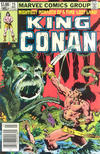 Cover for King Conan (Marvel, 1980 series) #15 [Newsstand Edition]