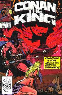 Cover Thumbnail for Conan the King (Marvel, 1984 series) #54 [Direct Edition]