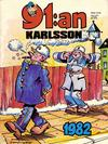 Cover for 91:an Karlsson [julalbum] (Semic, 1981 series) #1982