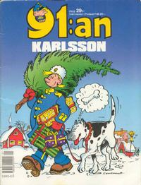 Cover Thumbnail for 91:an Karlsson [julalbum] (Semic, 1981 series) #[1990]