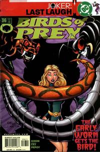 Cover Thumbnail for Birds of Prey (DC, 1999 series) #36