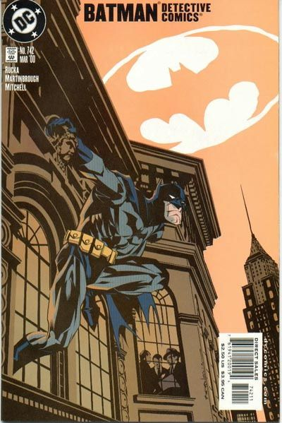 Cover for Detective Comics (1937 series) #742